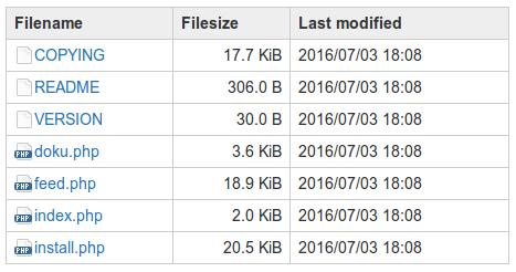 plugin:filelist [DokuWiki]